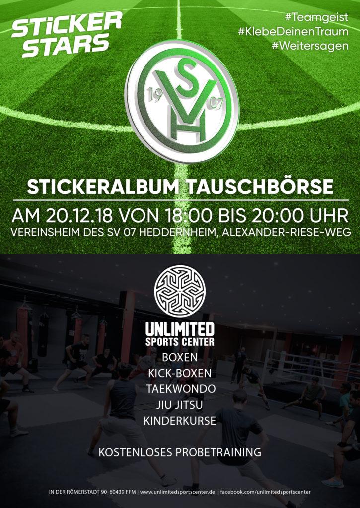 Stickeralbum SV 07 Heddernheim